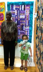 """Ms. Viola's quilt: """"Stitch & Sew"""""""